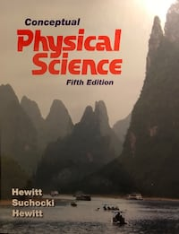 Conceptual Physical Science Fifth Edition book Ridgeley, 26753