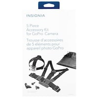 Insignia 5-Piece Accessory Kit for GoPro (NS-DGPK05-C) Mississauga