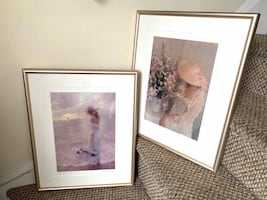 Pair of Lovely Signed & Numbered Lithographs - REDUCED