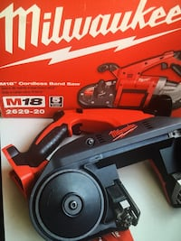 Milwaukee new brand : Band Saw -M18 Cordless-tool only Sierra de banda Inalámbrica M18 Los Angeles, 91343