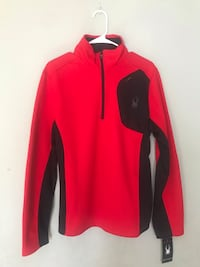 Spyder - Men's Half-Zip Red Racing Jacket Centreville, 20121