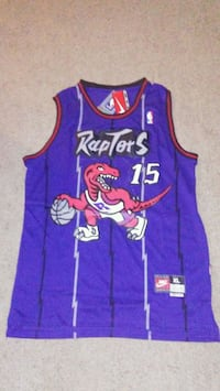 Toronto Raptors Vince Carter basketball jersey Lakewood