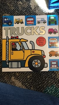 Trucks book with flaps that open. Fairfax, 22032
