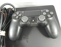 Sony Playstation 4 PS4 Slim 1TB all items needed to play- Black TESTED CUH-2115B BOSTON