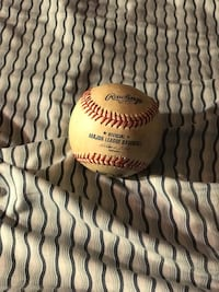 Official MLB Baseball Given To Me On The Field