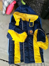 Pacers winter jacket West Fargo