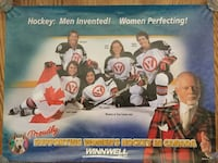 Don Cherry with Team Canada Women Hockey Poster 520 km