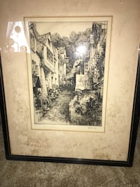 R H Smallridge Etching  Halethorpe, 21227