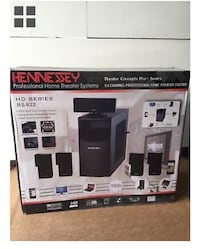 Hennessey Surround Sound Speakers Theater system  San Francisco, 94116