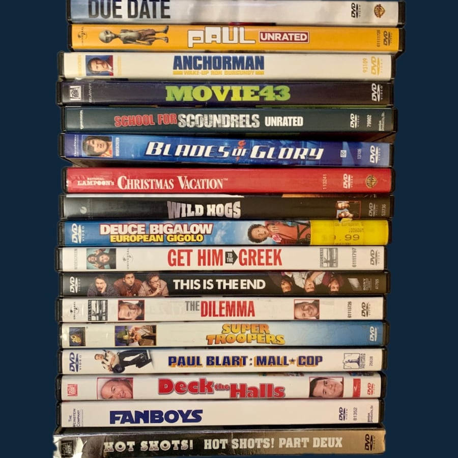 Comedy DVD Lot - 18 Movies