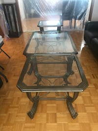 Furniture  Coffee table and 2 side tables  Best offer  To sell ASAP