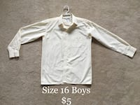 white and gray long-sleeved shirt Mississauga, L5W