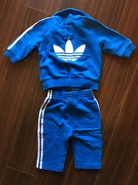 Adidas 3 Stripe Track Suit - Childs 6 MO Vancouver, V5M