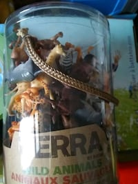 Brand new container of wild animals toy by terra by battat for kids Toronto, M4C 4X6