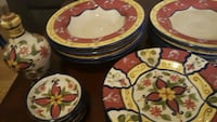 Vallarta Earthware Dishes 4 place settings Tampa, 33629