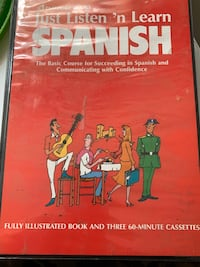 Learn Spanish tapes and book Milton, 17847