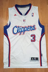 Chris Paul #3 Los Angeles Clippers Swingman Jersey Adidas Size M +2
