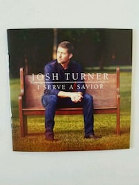 I Serve a Savior CD by Josh Turner