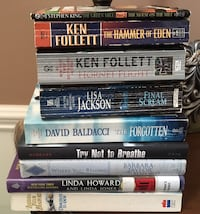 assorted-title book lot Byron, 31008