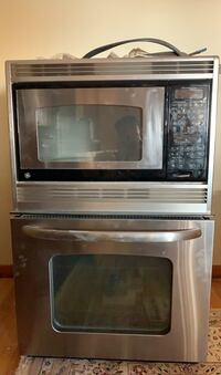Microwave and Wall Oven Combo