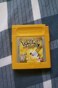 Pokemon yellow gameboy game Richmond Hill