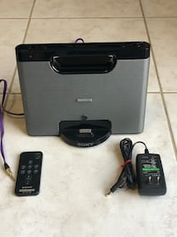 SONY speaker. Portable and plug In AC adapter Brampton, L6R 0T4