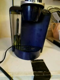 black and blue Keurig coffeemaker Catonsville