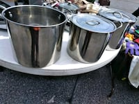 Three Large Cooking Pots for Sale. Norfolk, 23503