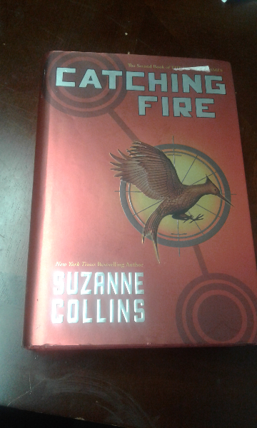 Catching fire by Suzanne Collins book KIRKSVILLE
