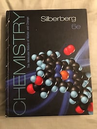Chemistry textbook - Silberberg 6th edition Edmonton, T5H 3S9
