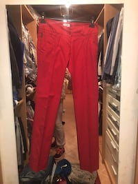 MOSCHINO JEANS PANTALONE ROSSO Milan