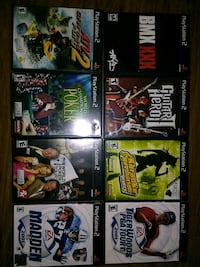 8 PS2 Games (Mint Conditions) San Jose, 95127