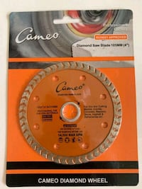 CAMEO DIAMOND SAW BLADES Toronto, M1H 2Y5