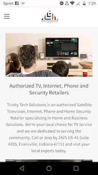 TV INTERNET AND HOME PHONE