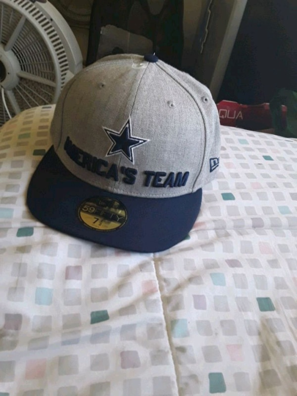 DALLAS COWBOYS FITTED HAT 7 1/2