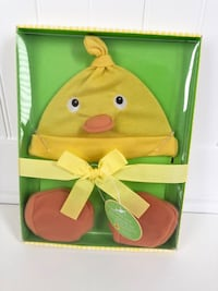 NEW IN BOX! Baby Hat & Bootie Easter Set - Photo Prop Markham, L3P 0C8