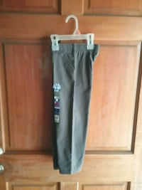 Brand new boys grey dress pants, $5 firm Colton, 92324