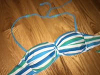 green, white, and blue halter top bikini top Mississauga, L5H 3X1