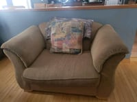 Palliser loveseat, extra wide chair with ottoman and 3 pillows  Calgary, T2Z 2H7