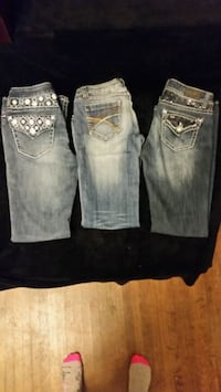 3 PAIRS 7/8 JEANS! Marion, 46952