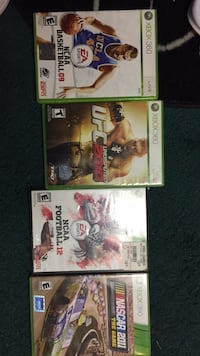 lot of 4 sports games