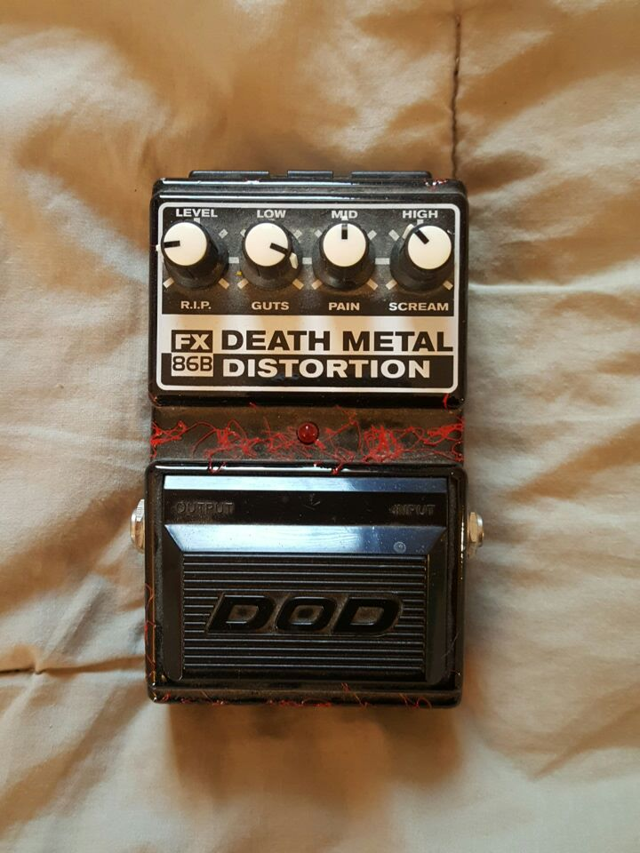 letgo dod death metal distortion guitar in bon air va. Black Bedroom Furniture Sets. Home Design Ideas