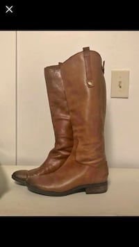 """Sam Edelman Leather Riding Boots """"Penny"""" in Cognac Lehi, 84043"""