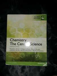 Chemistry The Central Science Thirteen Edition  Corona, 92882