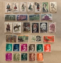 Lot of 32 old stamps from Spain. Mississauga, L5R 0E2