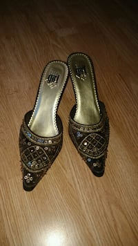 Glitzy Sequuin Shoes Calgary