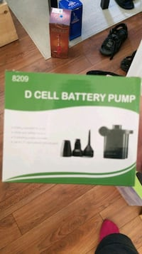 electric/battery air pump Toronto, M2R 2N1