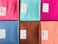 six assorted colors of textiles Bhopal, 462030