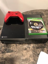 black Xbox One console with controller and game case Milltown, 08850