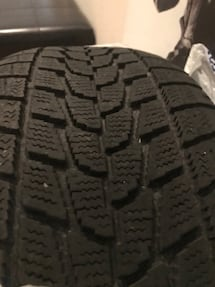3 TOYO WINTER TIRES 235 55 19